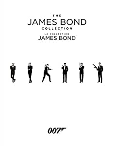 The James Bond Collection: A Complete 23-film Box Set (Bilingual) [Blu-ray]