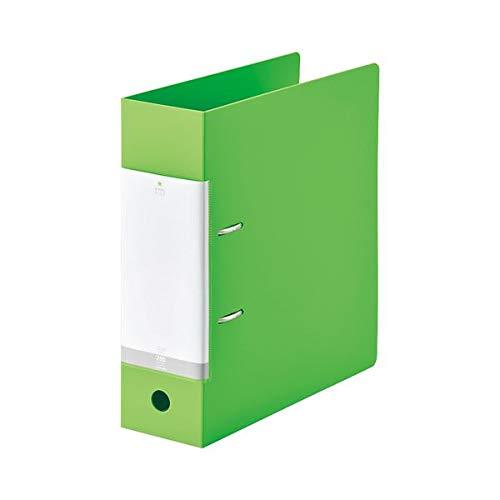 (まとめ) LIHITLAB D型リングファイル A4S 黄緑 G2290-6【×10セット】 生活用品 インテリア 雑貨 文具 オフィス用品 ファイル バインダー その他のファイル 14067381 [並行輸入品] B07PK59CJF