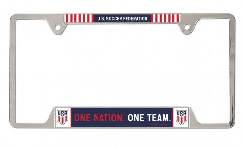 US Soccer - National Team 6 in x 12 in Metal License Plate Frame