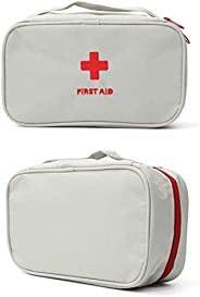 First Aid Bag - First Aid Kit Bag Empty for Home Outdoor Travel Camping Hiking, Mini Empty Medical Storage Bag