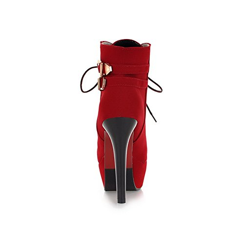 A Sandali Red Zeppa Con amp;n Donna yT4ZOg