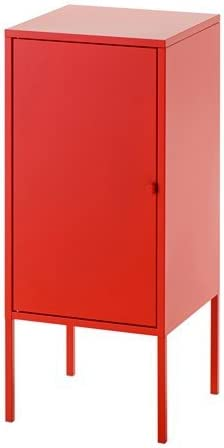 Ikea LIXHULT - Armario de Metal (35 x 60 cm), Color Rojo: Amazon.es: Hogar