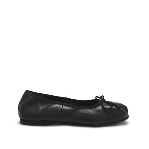 Danza Nere Made Italy Gar Shoe Nero Tipo Morbide Ballerine Vera In Pelle wt1vqSX