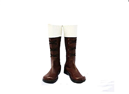 Aph Axis Powers Hetalia Switzerland cosplay costume Boots Boot Shoes (Switzerland Un Costume)