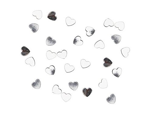(6mm Silver Heart Wedding Favor Table Party Confetti Approximately 9,000 Pc)