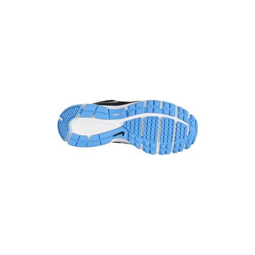 New Nike Boy's Revolution 2 Athletic Shoes Black/Vivid Blue 4.5