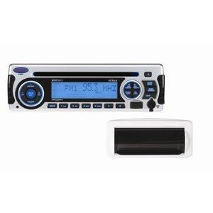(Jensen MSR3012RTL AM/FM/CD/USB/iPod & SiriusXM Satellite Ready Stereo with Marine Housing)