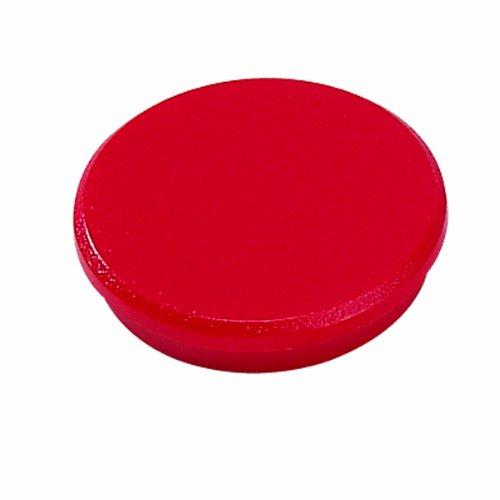 Magneti per lavagne Dahle - ø 24 mm - rosso - R955243 (conf.10) 95524-21417
