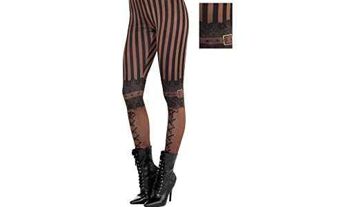 Steampunk Leggings Halloween Costume Accessories, One Size, by Amscan -