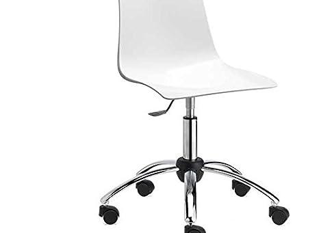Ideapiu idea sgabelli sedie antishock con ruote sedile