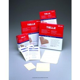Tielle Hydropolymer Adhesive Dressings - TIELLE® Hydropolymer Dressing-Dimensions: 2 3/4