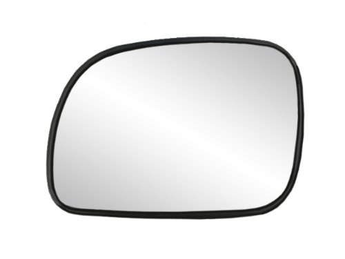 Fit System 88013 Chrysler/Dodge/Plymouth Left Side Manual/Power Replacement Mirror Glass
