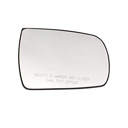 (BROCK Passengers Side View Mirror Glass & Base Heated Right Replacement for 11-15 Kia Sorento 876211U100 876211U200)