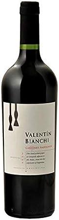 Valentin Bianchi - Vino Tinto Cabernet Sauvignon - Bodegas Bianchi- Vinos de Familia Desde 1928- Producto Argentino Por Excelencia- 75 Cl