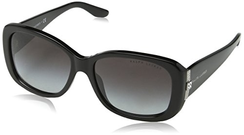 Ralph Lauren RL8127B 500185G Black RL8127B Square Sunglasses Lens Category 3 - Lauren Ralph Womens Eyeglasses