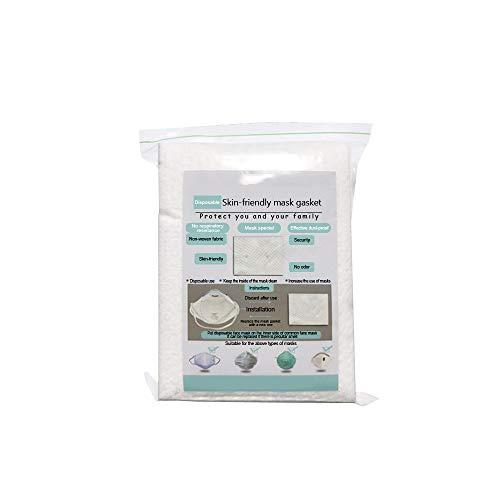 Lomsarsh 10/20/50 / 100PC austauschbarer Aktivkohlefilter, austauschbare Unisex-Filterfilter, Staub und Nebel, Aktivkohlefilter, Wattepads für den Außenbereich