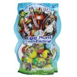 Marvel Avengers Assemble Egg Hunt with Candy, 22 Eggs - (2 pack) ()