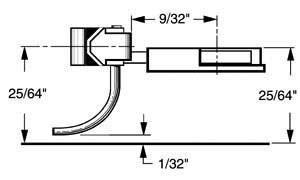 Kadee Qualtiy Products, CO. HO Multi-Purpose Coupler, 9/32 Under (2pr)