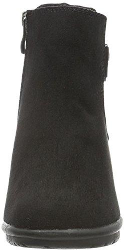 black Noir Marco Tozzi Femme 25340 Bottes 001 Chelsea qxxCv4SY