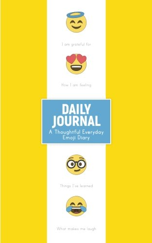 Download Daily Journal: A Thoughtful Everyday Emoji Diary PDF