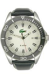 Lacoste Sportswear Collection Sport Navigator White Dial Men's watch #2010442 - Lacoste Sport Navigator
