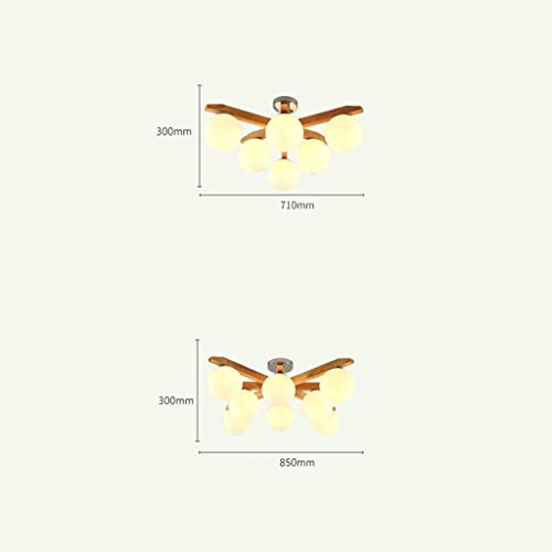 df27f64bf8c Kids Children s Lamps Led Living Room Ceiling Lamp Simple Contemporary  Modern Restaurant Lamp Creative Wood Room Lamp Nordic Study Personality  Bedroom Lamp ...