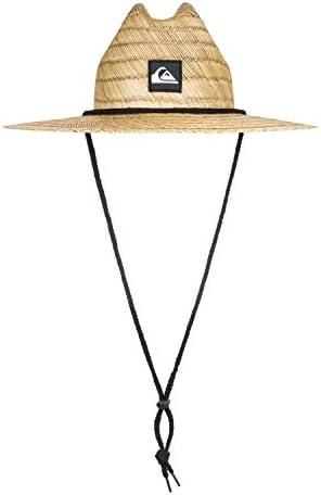 Quiksilver Boys Pierside - Straw Lifeguard Hat for Boys 2-7 Straw Lifeguard Hat