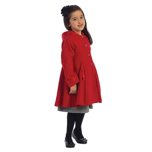 Girls Swing Coat | Down Coat