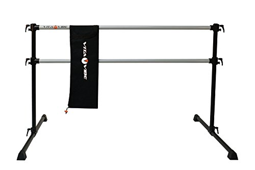 Vita Vibe Ballet Barre - PDBNB5 5ft Professional Series Barre-N-Bag Portable Double Bar - Freestanding Stretch / Dance Bar - Vita Vibe - USA Made by Vita Vibe Pro Ballet Barres