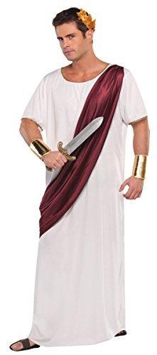 Amscan Mens Size Caesar Augustus Halloween Costume (Mens Carnival Costumes)