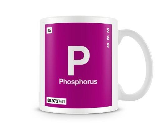Amazon Periodic Table Of Elements 15 P Phosphorus Symbol Mug