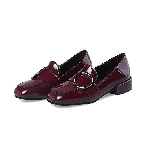 Femme BalaMasa Compensées 36 Rouge Bordeaux APL10665 Sandales EU 5 fqTZxrtq