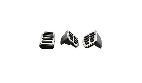 XLTWKK Pedales de Freno de Coche de Acero Inoxidable, para Audi TT ...