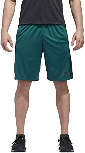 adidas Men's Designed-2-Move Shorts (X-Large, Noble Green/Collegiate ()