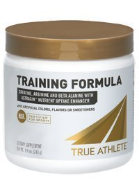 True Athlete Training Formula with Creatine, Arginine Beta Alanine with Astragin Nutrient Uptake Enhancer NSF Certified for Sport (8.6 Ounces Powder)