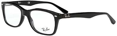 Ray Ban Eyeglasses RX5228 2000 Black/Demo Lenses 50mm