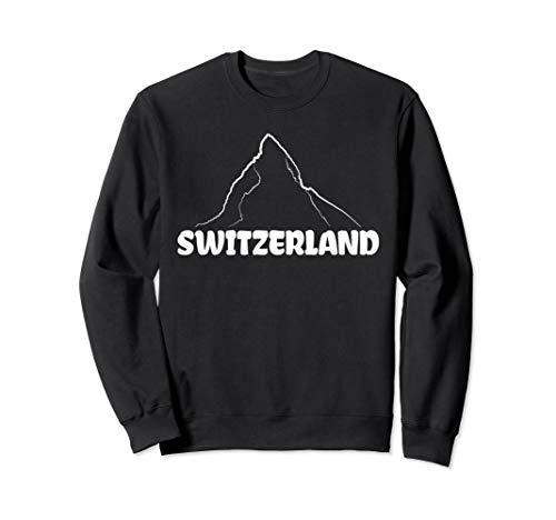 Switzerland Matterhorn Mountaineer Snow Ski Lovers Gift Sweatshirt