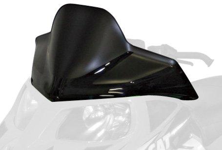 PowerMadd 12925 Cobra Windshield for Arctic Cat F Series -  Flat black with black graphics - Low (Bike Cobra Flat)