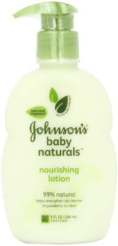 Baby Lotion: Johnson's Baby Naturals