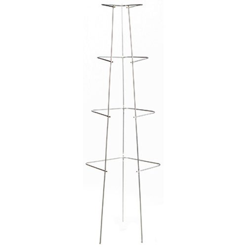 Glamos 760469 Diamond Cage Galvanized Plant Support, 44-Inch (10-Pack)