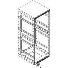 Slim 5 Series Adjustable ''Split'' Rear Rackrail Rack Spaces: 21U Rackspaces, Depth: 20'' D by Middle Atlantic (Image #3)