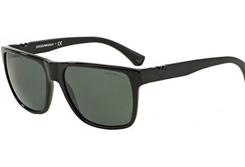 Emporio Armani Gafas de sol para hombre negro EA 4035 501771 ...