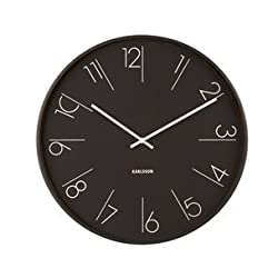 Karlsson Modern Wall Clock - Unique & Contemporary Wall Clock - Elegant Numbers