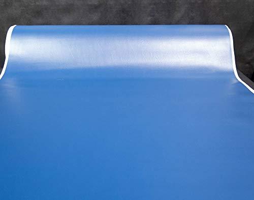 1/4'' Foam Backed Marine Vinyl Upholstery Fabric Dark Blue 54'' Wide by 5 Yards Boat Auto by Bry-Tech Marine1 (Image #1)