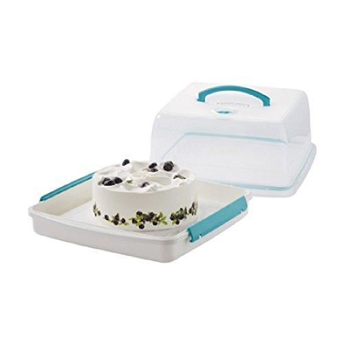 Lock & Lock Air Tight Portable Plastic Cake Box - Cake Tray - Cake Carrier - 21L