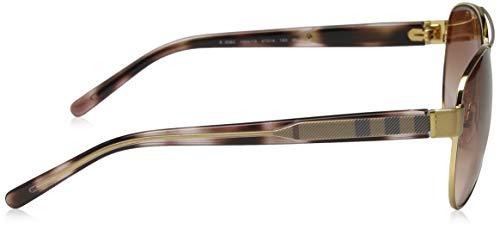 Gafas Burberry De Unisex Dorado brown Sol Adulto dRRAqrw