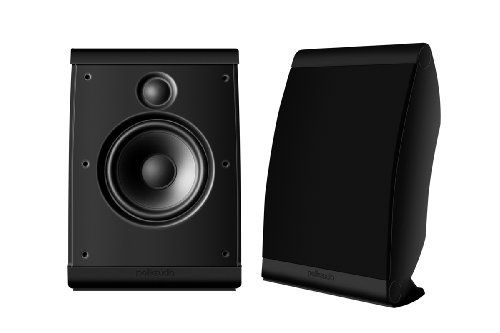 Polk Audio OWM3 On-Wall Speaker (Pair, Black) (Polk Audio Speakers Satellite)