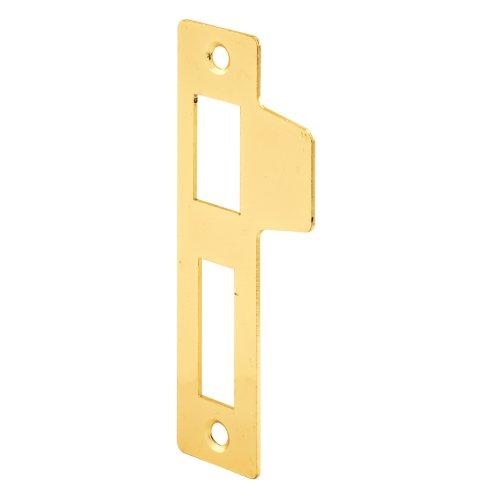 Defender Security E 2436 Mortise Lock Door Strike, Brass