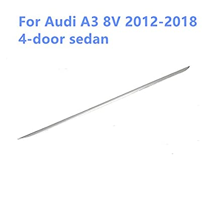 Contraportada de la cubierta trasera Ajuste para A3 8V Sedan ...