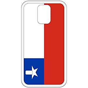 Chile Flag White Samsung Galaxy S5 Cell Phone Case - Cover